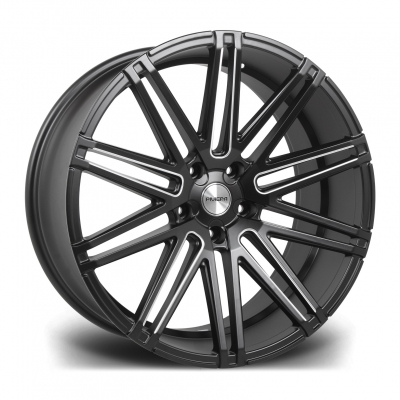 RV120 MATT BLACK MILLED