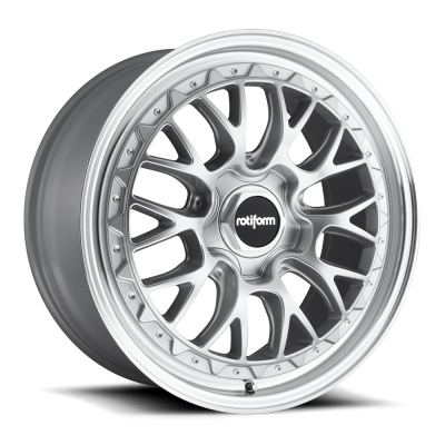 LSR (R155) SILVER MACHINED