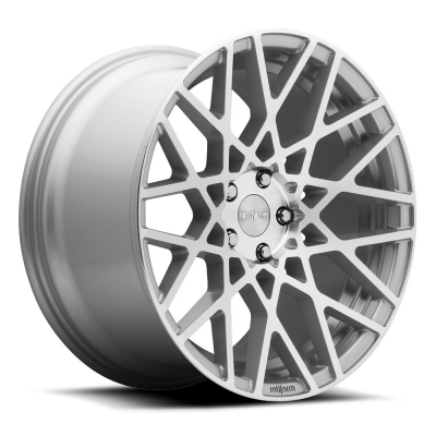 Rotiform by Wheelpoint BLQ R110 SILVER POLISHED