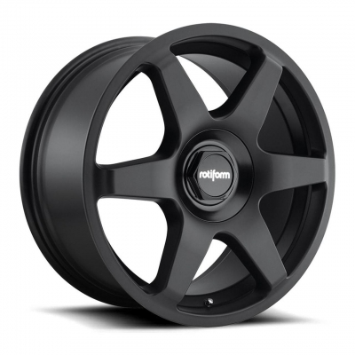 Rotiform by Wheelpoint SIX R113 MATTE BLACK