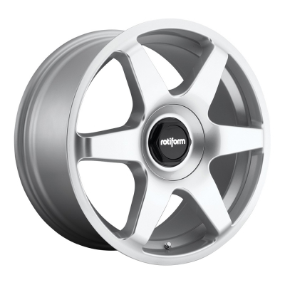 Rotiform by Wheelpoint SIX R114 SILVER POLISHED
