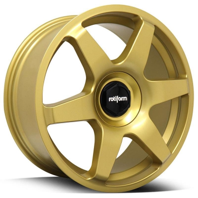 Rotiform by Wheelpoint SIX R118 MATTE GOLD