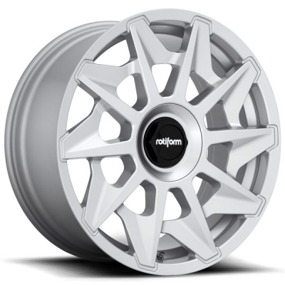 Rotiform by Wheelpoint CVT R124 GLOSS SILVER