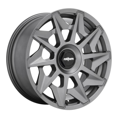 Rotiform by Wheelpoint CVT R128 MATTE GUNMETAL