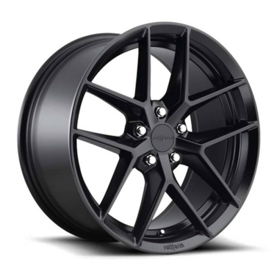 Rotiform by Wheelpoint FLG R134 MATTE BLACK