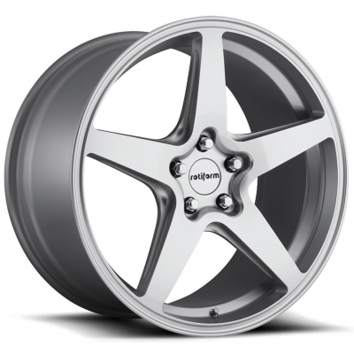 Rotiform by Wheelpoint WGR R147 SILVER