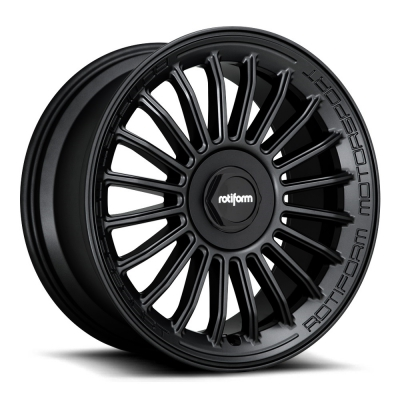 Rotiform by Wheelpoint BUC-M R161 MATTE BLACK