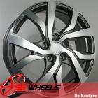 SG Wheels by Kentyre Silva 6.50X17 5X114.3 ET46.0 NB67.1 GmFM