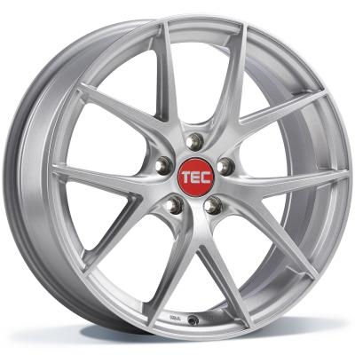 TEC GT6 EVO SHINY SILVER