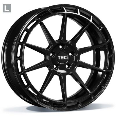 TEC GT8-RECHTS BLACK GLOSSY