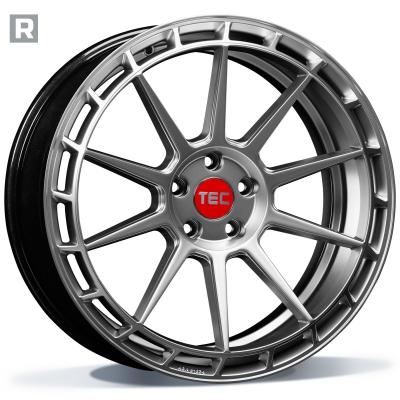 TEC GT8-RECHTS HYPER SILVER