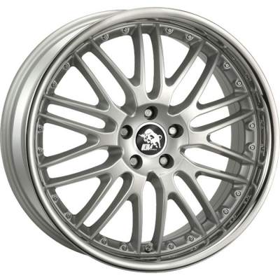 Ultra Wheels GT ZILVER GEPOLIJSTE LIP