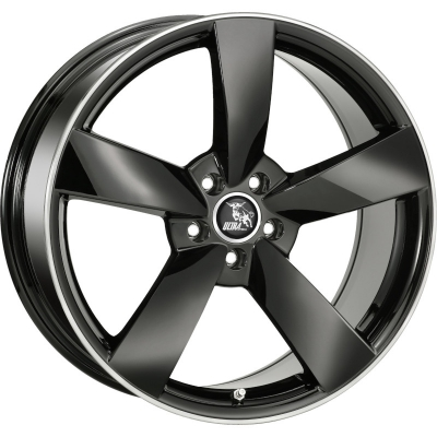 Ultra Wheels RS ZWART GEPOLIJSTE LIP