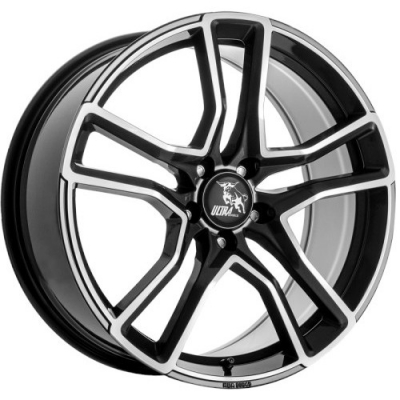 Ultra Wheels STAR GRAFIET GEPOLIJST