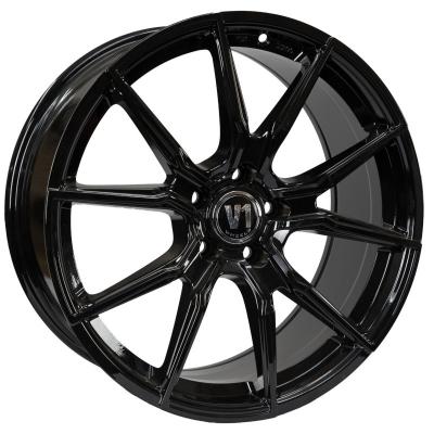 V1 Wheels V1 ZWART