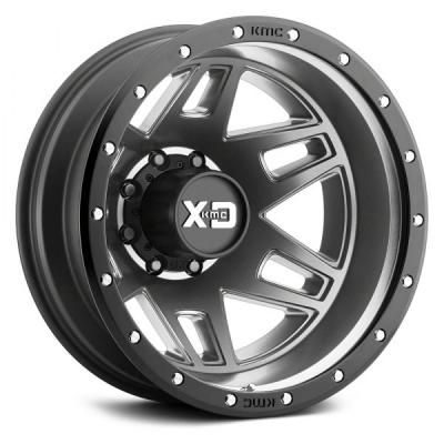 XD130 MACHETE DUALLY (XD1304) MATTE GRAY W/ BLACK RING