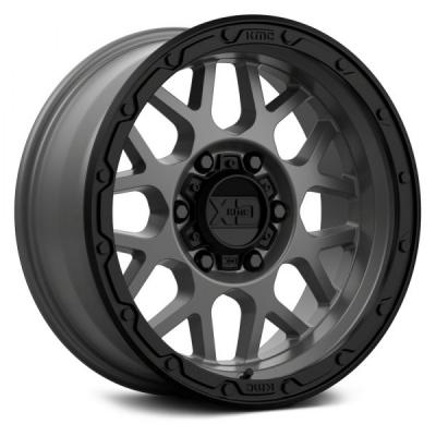 XD135 (XD1354) MATTE GREY W/ MATTE BLACK LIP