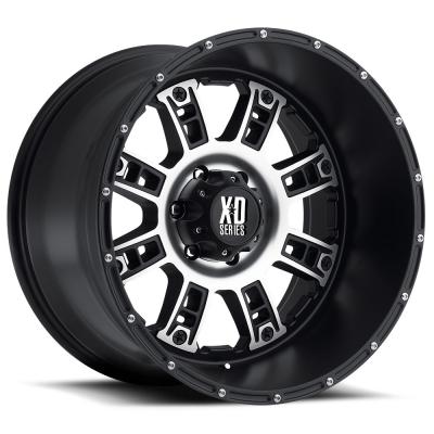 XD809 RIOT MATTE BLACK MACHINED