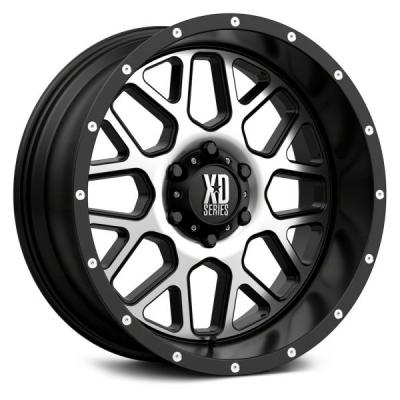 XD820 GRENADE (XD8205) SATIN BLACK W/ MACHINED FACE