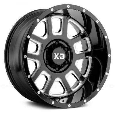 XD828 DELTA (XD8283) GLOSS BLACK MILLED