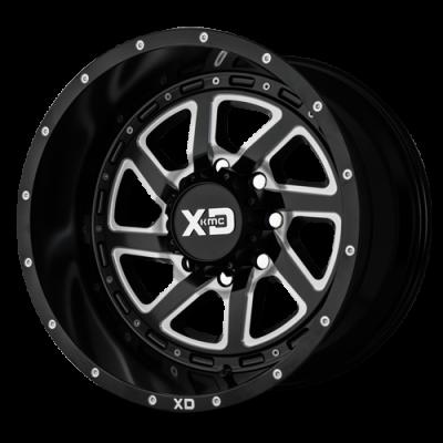 XD833 RECOIL (XD8339) SATIN BLACK MILLED W/ REVERSIBLE RING