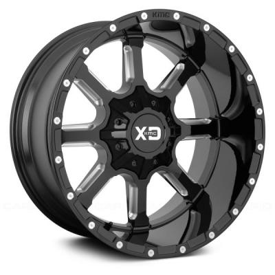 XD838 MAMMOTH (XD8383) GLOSS BLACK MILLED