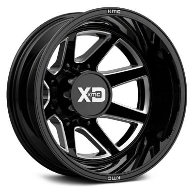 XD845 GLOSS BLACK MILLED - REAR