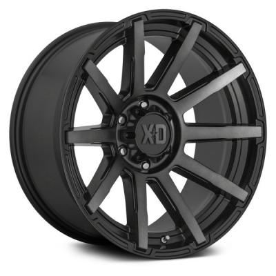 XD847 OUTBREAK SATIN BLACK W/ GRAY TINT