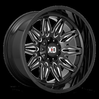 XD859 GLOSS BLACK MILLED
